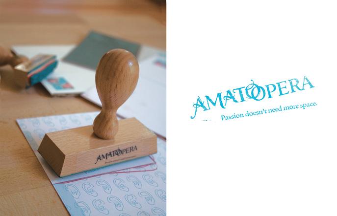 Stempel, Karten sowie Logo und Claim