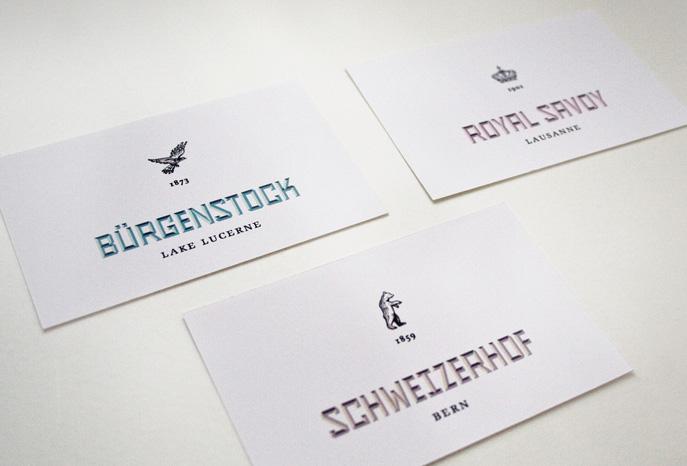 Logos der jeweiligen Hotels