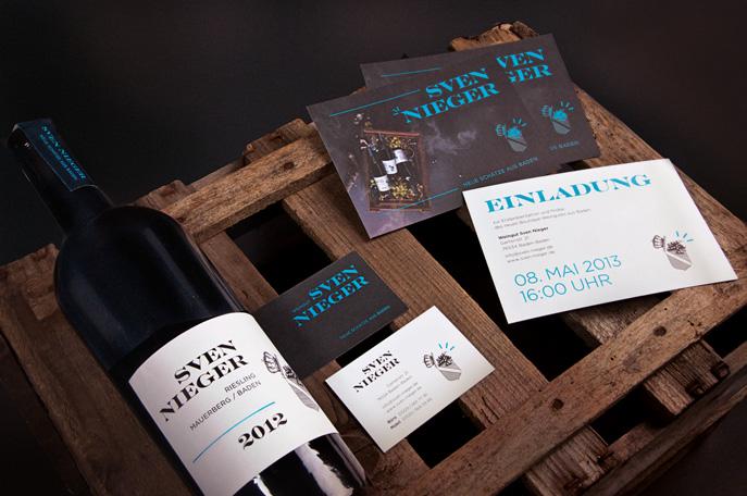 Erstausstattung zur Eröffnung des Weingutes