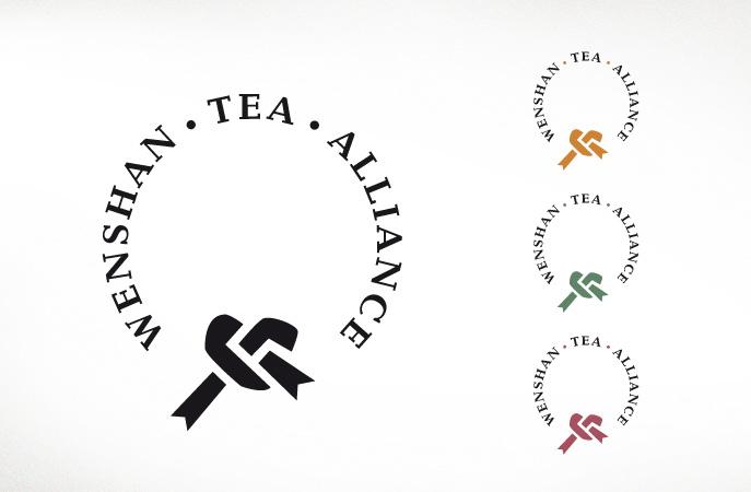Tea Alliance/Wenshan. Verbund einer Gruppe Teebauern mit festem Band im Kreis