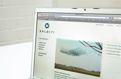 Homepage für die klassische Bildschirm-Ansicht